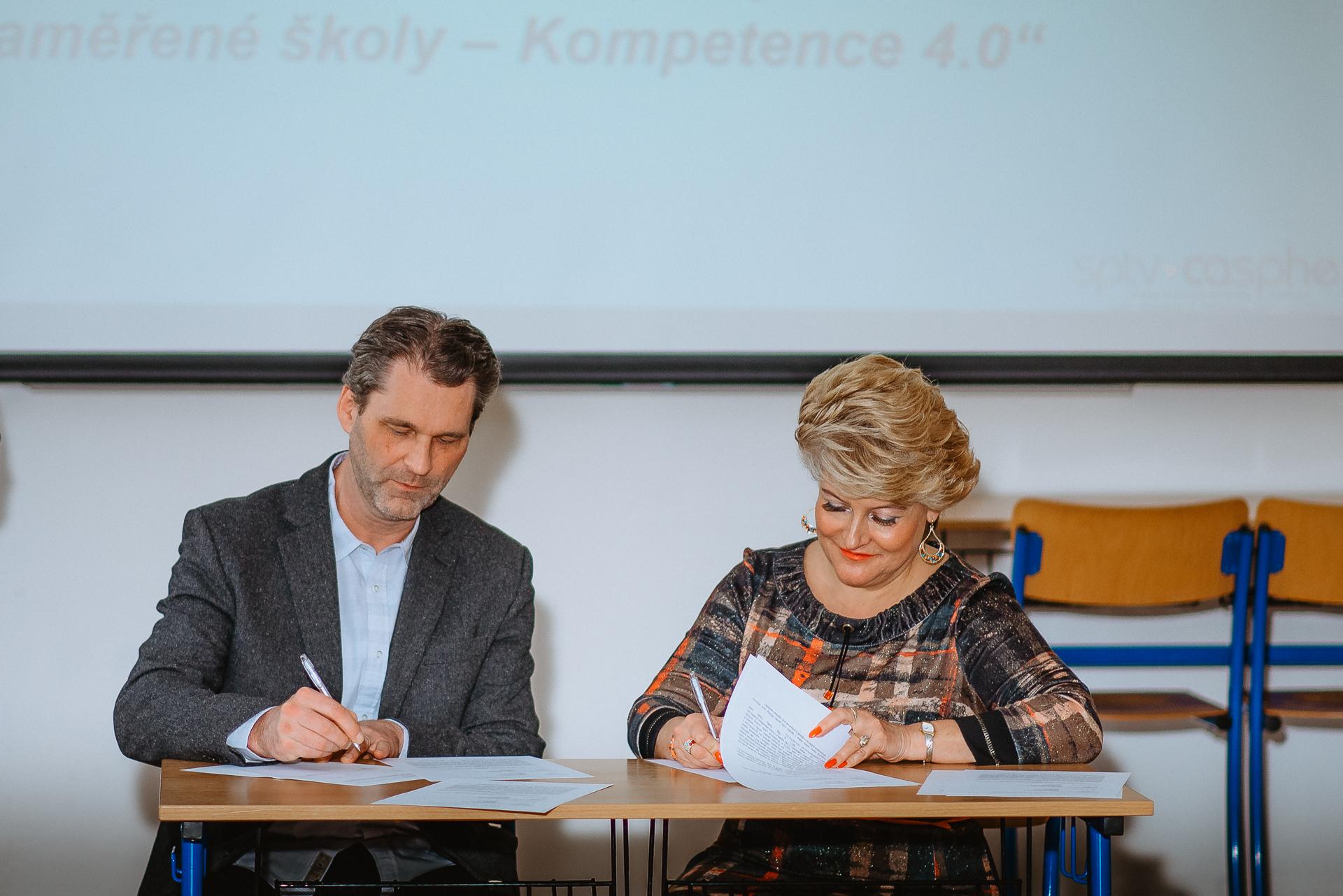 Pospis spolupráce CSVŠ a SPTV
