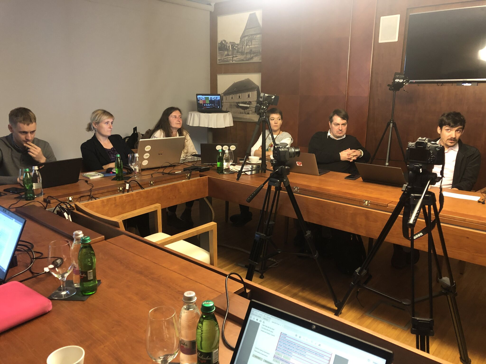 Projektové konzorcium - příprava na natáčení videí